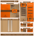 coffee shop business template vector image vector image