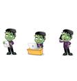 Frankenstein 3 vector image