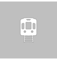 Train computer symbol vector image