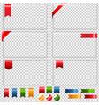 glass framework vector image
