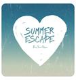 Summer time conceptual vector image