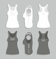 Women t-shirt vector image