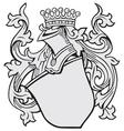 aristocratic emblem No3 vector image vector image