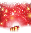 christmas gift background 0812 vector image vector image
