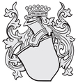 aristocratic emblem No3 vector image