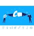 teamwork Businessman vector image