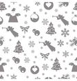 Christmas retro vintage vector image