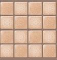 beige tile pattern vector image