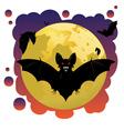 Bats and Moon2 vector image