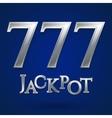 Casino jackpot symbol vector image