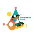 Christmas banner design vector image