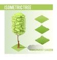Isometric Tree 002 vector image