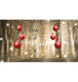 merry christmas background 0412 vector image vector image
