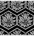 seamless tree pattern 4 grunge vector image