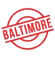 Baltimore rubber stamp vector image