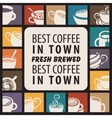 banner for coffee house vector image vector image