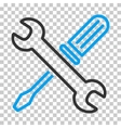 Tuning Tools Icon vector image