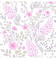calico delicate pink green colors pattern cute vector image