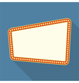 Flat Retro Banner vector image vector image