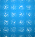 Circles blue technology pattern vector image