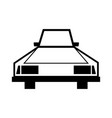 car line icon for web vector image