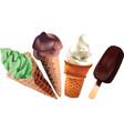 ice-cream illustration vector image