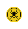 Tick insect vector image