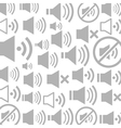 Sound a background vector image vector image