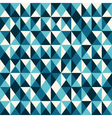 pattern low poly blue vector image vector image