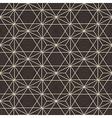 abstract geometric hexagonal pattern vector image