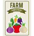 vegetables design vector image