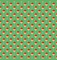 ice cream seamless pattern background fruit vector image