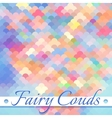 Fairy Clouds Background vector image