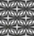 Pattern tiles in monochrome of the stars vector image