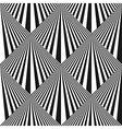 Seamless pop art background vector image
