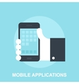 Mobile Applications vector image vector image