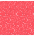 Romantic bright background with a white outline vector image