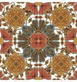 Colorful glaze seamless pattern of mandalas vector image vector image