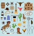 cowboy clipart vector image