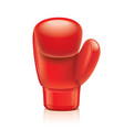 object boxing glove vector image