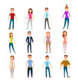 parents mothers and fathers isolated on white vector image