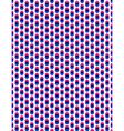 Abstract overlay polka dot seamless background vector image