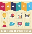 infographic design element in flat style vector image vector image