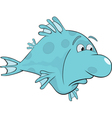 Deep water fish Cartoon vector image
