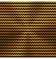 Background with Zigzag Pattern and Gold Texture vector image
