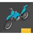 motocross isometric vector image