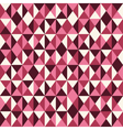 pattern low poly pink vector image