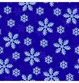 snow dark seamless vector image vector image