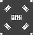 Dj console mix handles and buttons icon symbol vector image