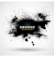 Grunge splash banner vector
